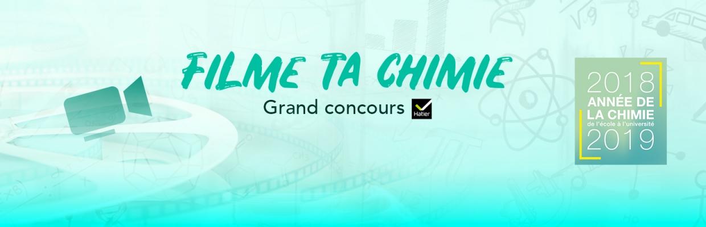 "Concours ""filme ta chimie"""