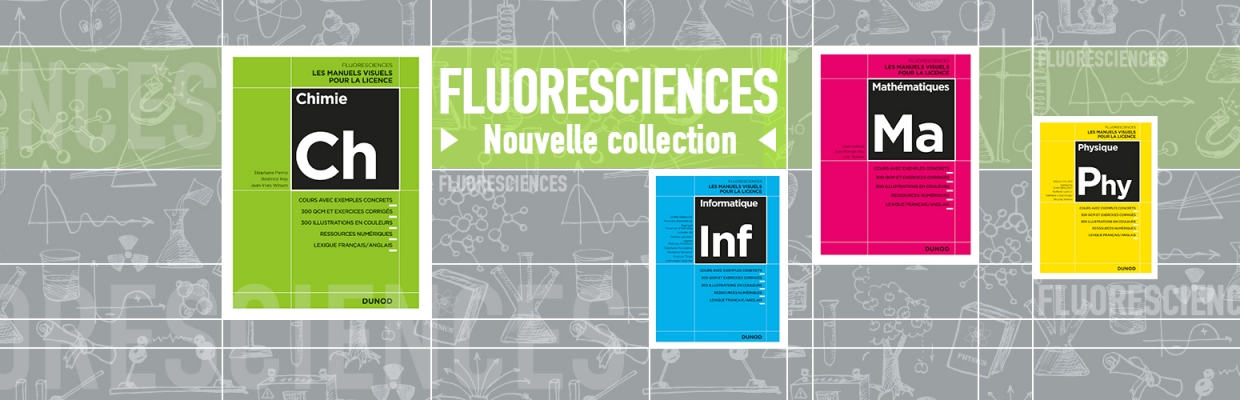 Nouvelle collection FLUORESCIENCES