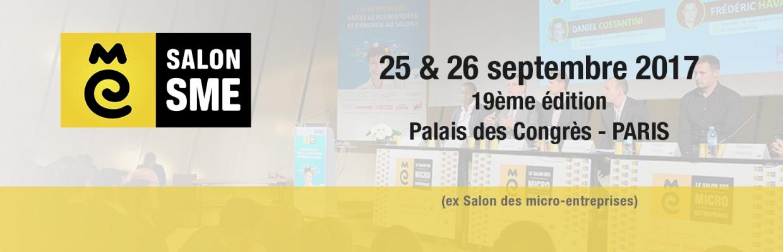 Salon SME 2017 en partenariat avec DUNOD - Micro entreprise