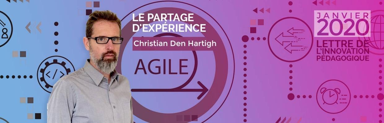 Pédagogie agile par Christian Den Hartigh