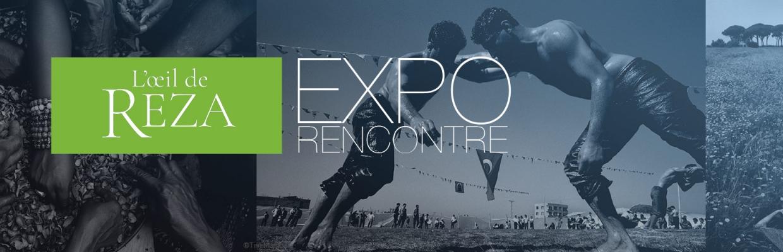 L'oeil de Reza : rencontres, expositions et dédicaces