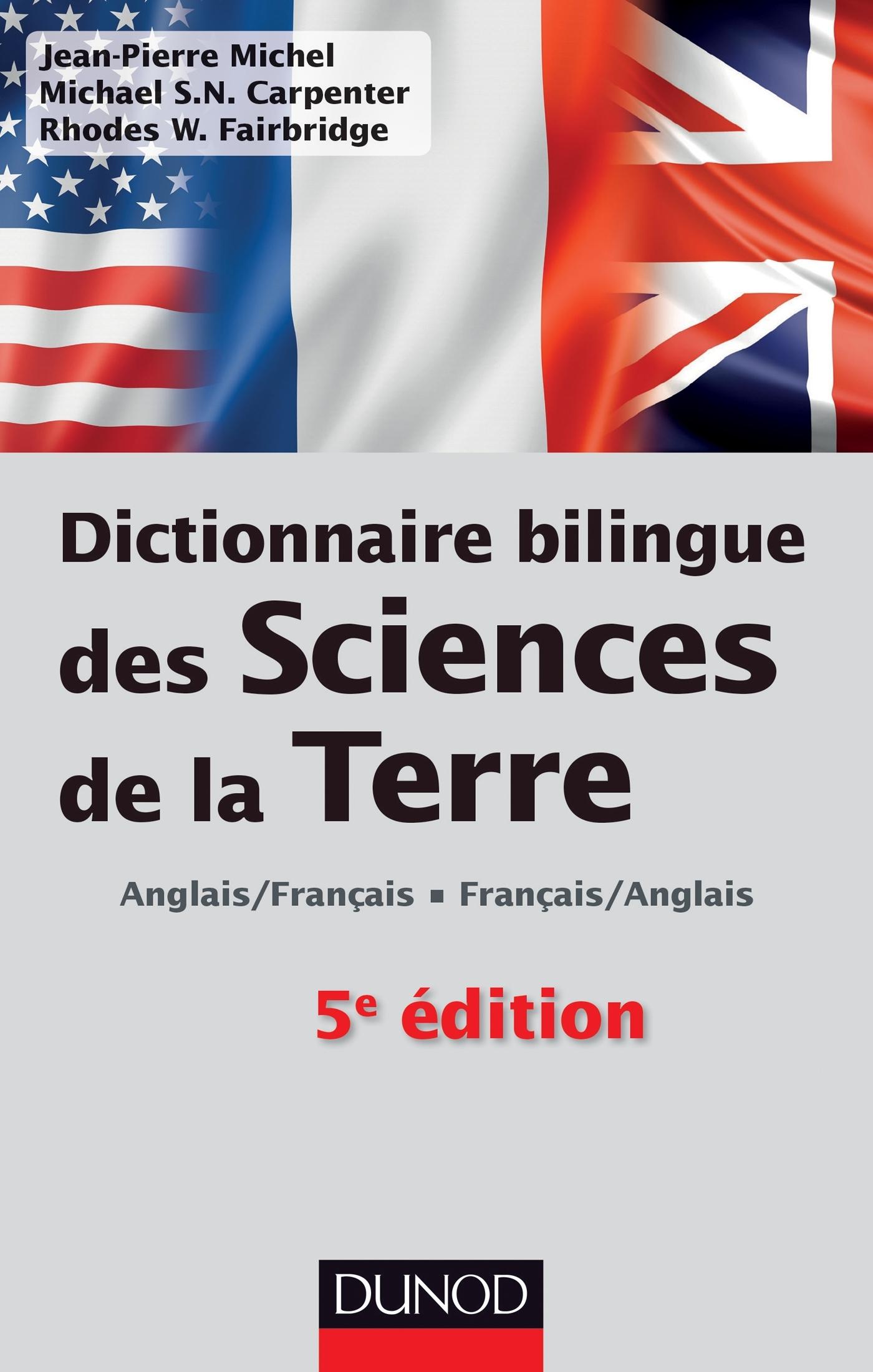 Dictionnaire bilingue des sciences de la terre anglais for Dictionnaire architecture et construction