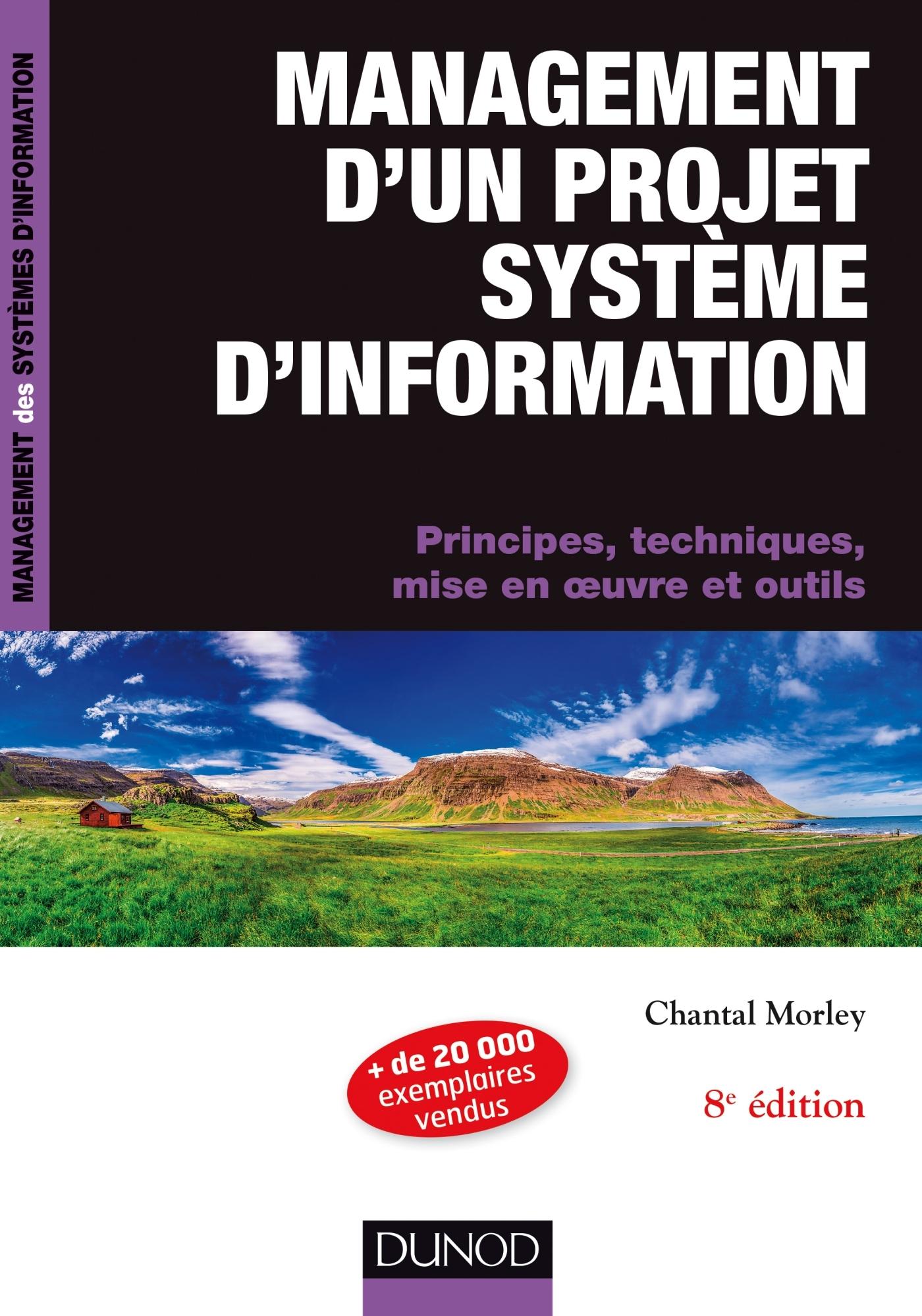 Management D Un Projet Systeme D Information Principes Techniques Mise En Oeuvre Et Outils Livre Et Ebook Systemes D Exploitation De Chantal Morley Dunod