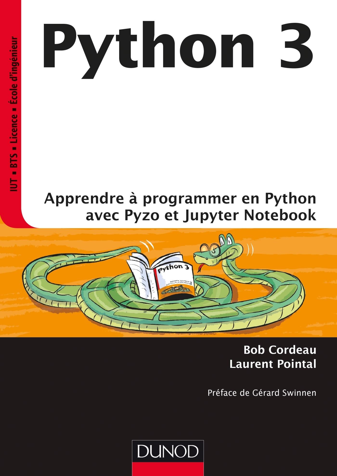python 3 apprendre programmer en python avec pyzo et jupyter notebook livre d veloppement. Black Bedroom Furniture Sets. Home Design Ideas