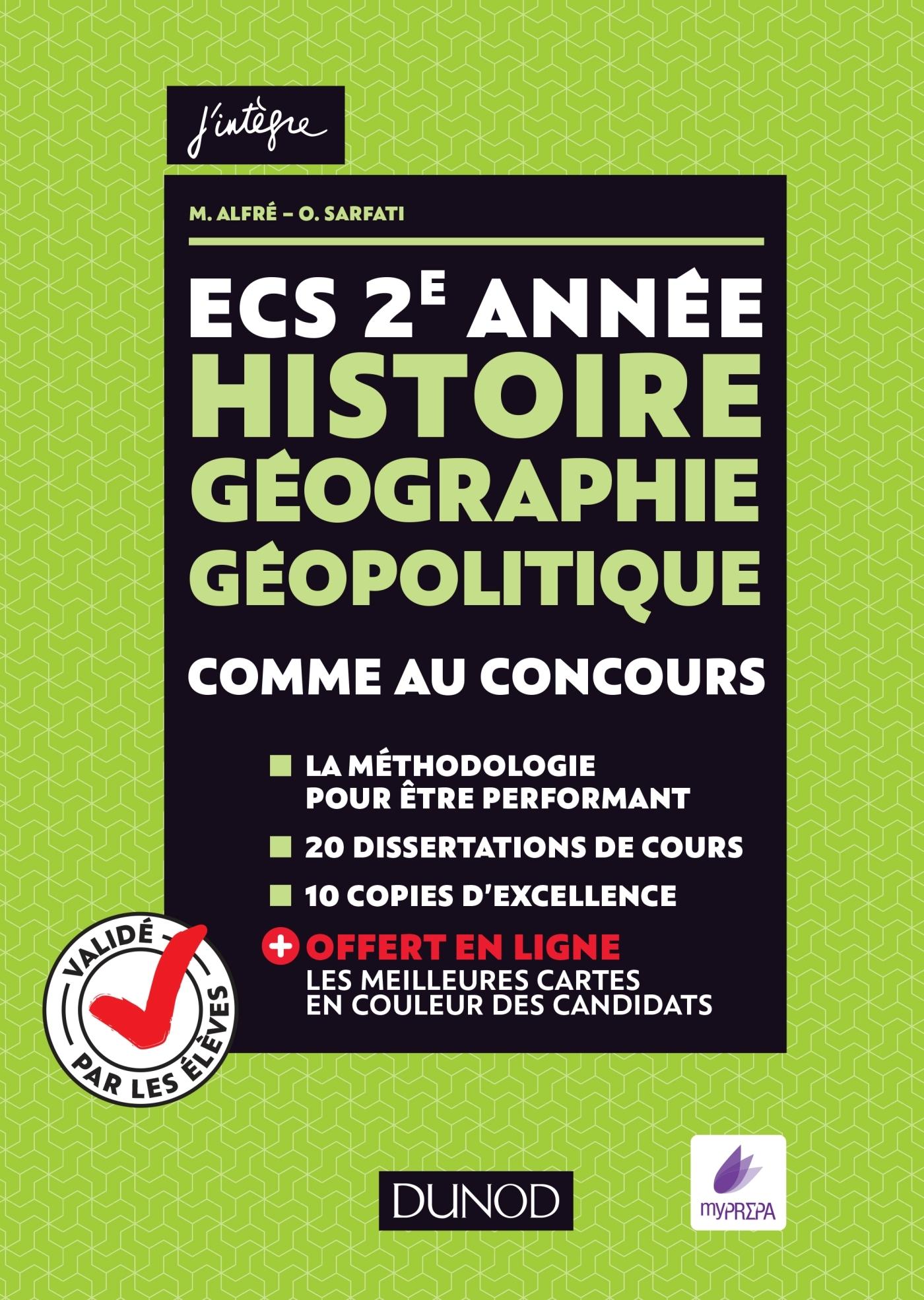 Ecs 2e Année Histoire Géographie Géopolitique Comme Au Concours