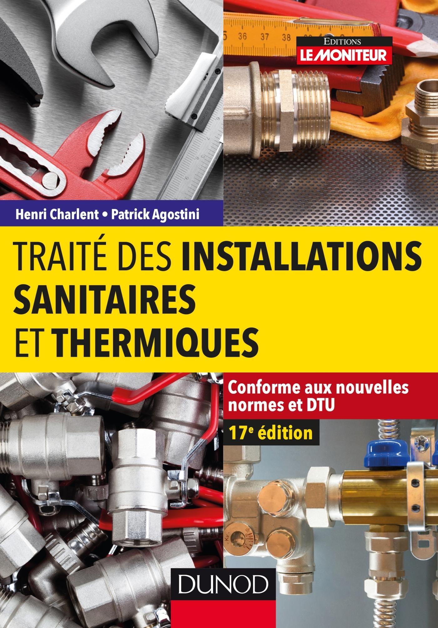 Norme Dtu Salle De Bain ~ trait des installations sanitaires et thermiques conforme aux