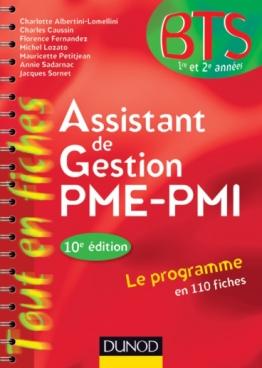 Assistant de gestion PME-PMI