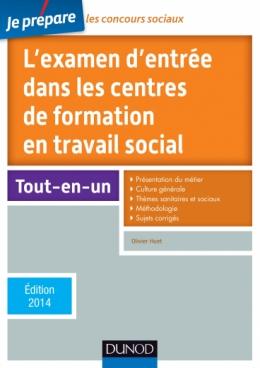 Je prépare l'examen d'entrée dans les centres de formation en travail social