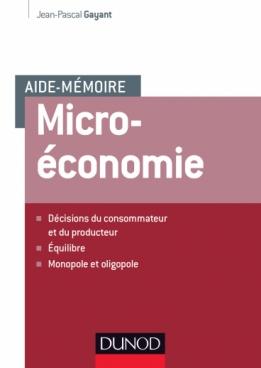 Aide-mémoire de Microéconomie