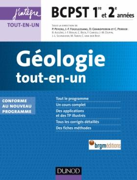 Géologie tout-en-un BCPST 1re et 2e années