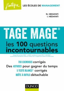 TAGE MAGE® Les 100 questions incontournables - Plus de 700 exercices corrigés