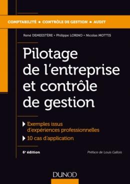 Pilotage de l'entreprise et contrôle de gestion
