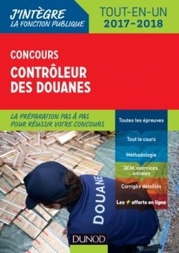 Concours Contrôleur des douanes 2017-2018