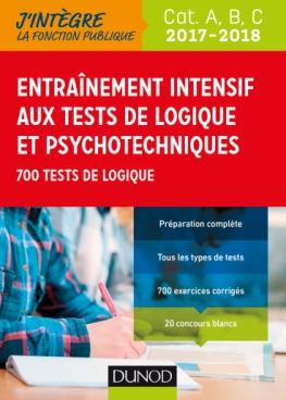 Entrainement intensif aux tests de logique et psychotechniques 2017-2018