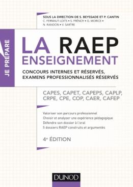 La Raep enseignement -Concours internes et réservés, examens professionnalisés réservés