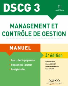 DSCG 3 - Management et contrôle de gestion