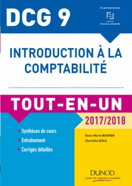 DCG 9 - Introduction à la comptabilité 2017/2018