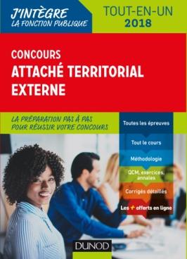 Concours Attaché territorial Externe - 2018