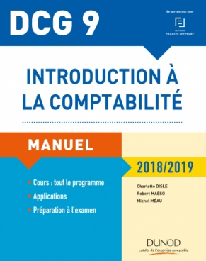 DCG 9 - Introduction à la comptabilité 2018/2019