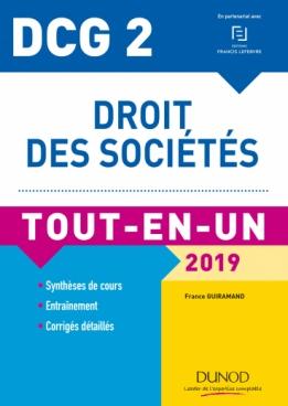 DCG 2 - Droit des sociétés 2019