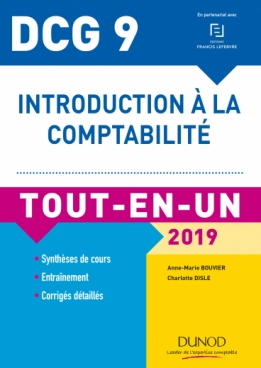 DCG 9 - Introduction à la comptabilité 2019