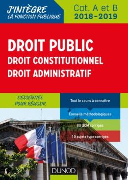 Droit public - Droit constitutionnel - Droit administratif - 2018-2019