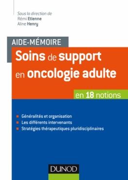 Aide-mémoire - Soins de support en oncologie adulte