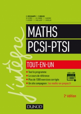 Maths PCSI-PTSI
