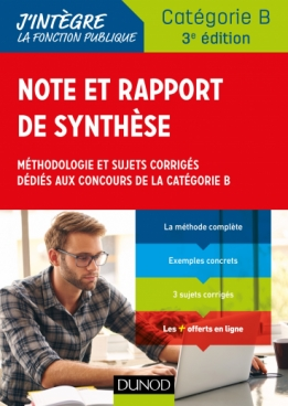Note et rapport de synthèse
