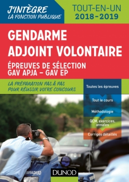 Gendarme adjoint volontaire - 2018-2019