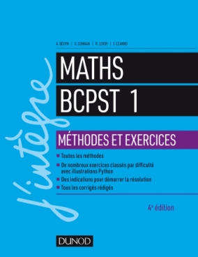 Maths Méthodes et Exercices BCPST 1