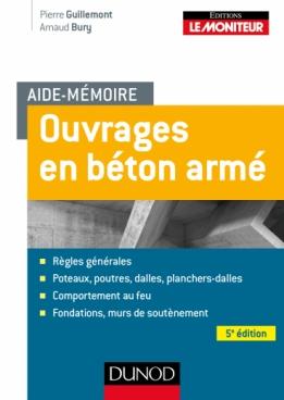 Aide-mémoire - Ouvrages en béton armé