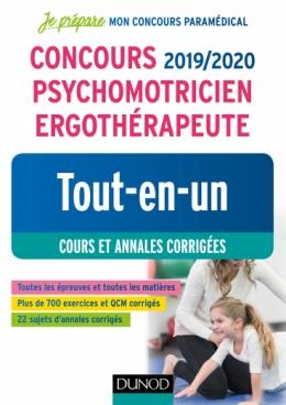 Concours 2019/2020 Psychomotricien Ergothérapeute