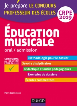 Education musicale - Oral / admission - CRPE 2019