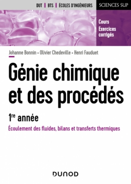 Génie chimique et des procédés - 1re année