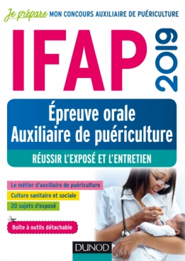 IFAP 2019 - Epreuve orale Auxiliaire de puériculture