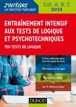 Entrainement intensif aux tests de logique et psychotechniques 2019