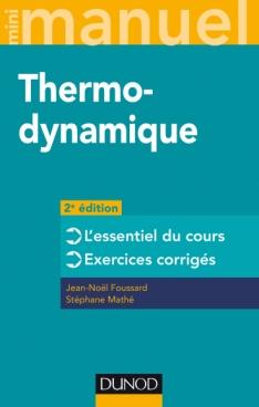 Mini manuel - Thermodynamique