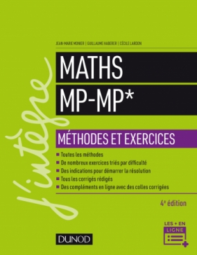 Maths Méthodes et Exercices MP
