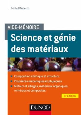 Aide-mémoire - Science et génie des matériaux