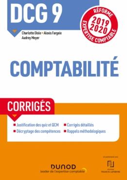 DCG 9 Comptabilité - Corrigés