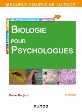 Manuel visuel de biologie pour psychologues