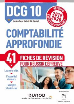 DCG 10 - Comptabilité approfondie - Fiches de révision