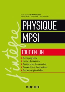 Physique tout-en-un MPSI