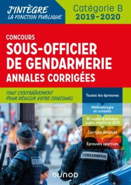 Concours Sous-officier de gendarmerie - 2019/2020