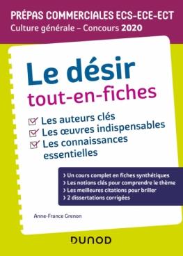Le désir - Prépas commerciales ECS-ECE-ECT - Culture générale - Concours 2020