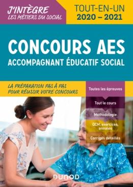 Concours AES - Accompagnant éducatif social - 2020-2021