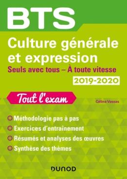 BTS Culture générale et Expression 2019/2020