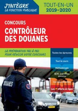 Concours Contrôleur des douanes - 2019/2020