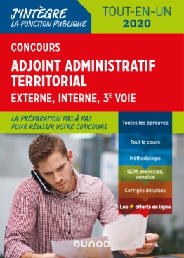 Concours Adjoint administratif territorial 2020